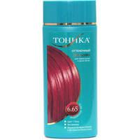 Бальзам-тоник для волос 6.65 Индейское лето (красно-фиолетовый) Тоника