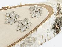 Подвеска Девочка серебро 29мм (10 штук)(товар при заказе от 500грн)
