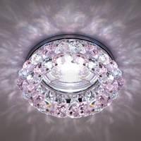 Точечный светильник (цоколь G5.3)MR16,розовый Feron CD4141