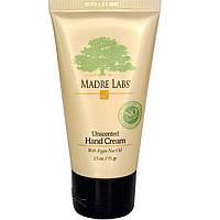 Madre Labs, Неароматизированный крем для рук с аргановым маслом. Сделано в США.