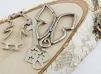 Подвеска микс серебро  (3 штук) (товар при заказе от 200 грн)