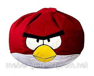 Бескаркасное кресло Красная птица Матролюкс