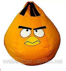 Бескаркасное кресло Оранжевая птица Матролюкс