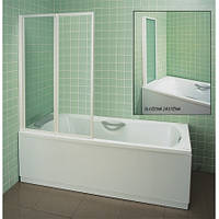 Штора для ванны Ravak VS2 105 белыйTRANSPARENT