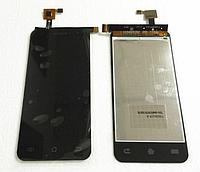 Оригинальный дисплей (модуль) + тачскрин (сенсор) для Jiayu G2S (черный цвет)