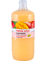 "Крем-мыло Fresh Juice ""Mango and Carambola"" 1000мл"
