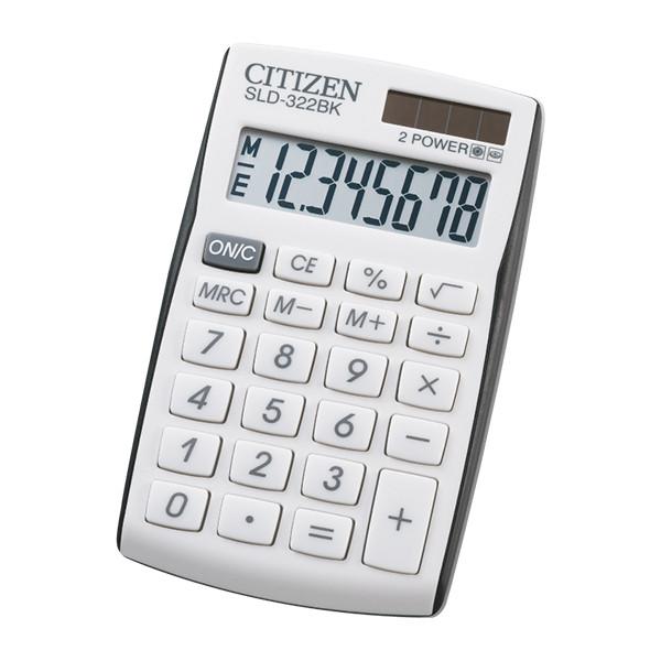 Калькулятор Citizen SLD-322BK карманный