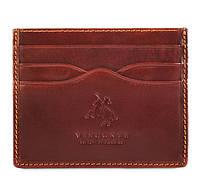 Кожаный картхолдер Visconti MZ1 Brown
