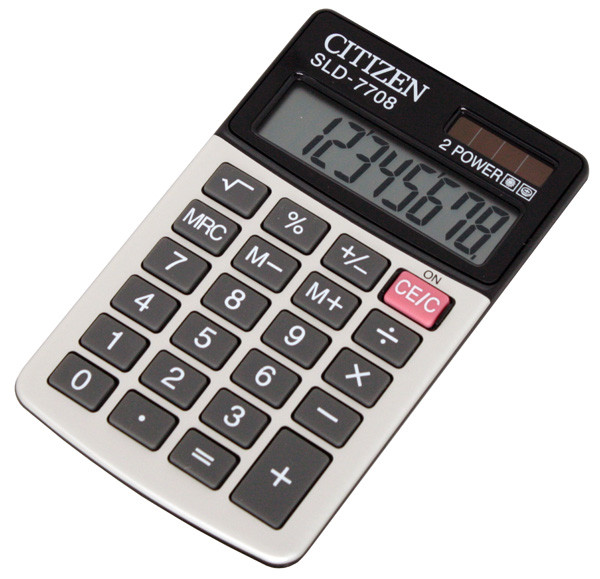 Калькулятор Citizen SLD-7708 карманный