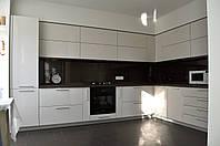 Современная кухня МДФ крашеный, фото 1