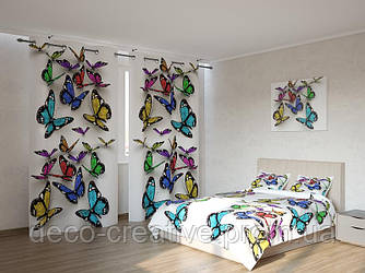 Фотокомплект  3д бабочки