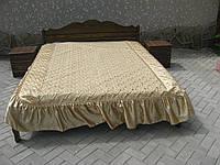 Кровать из дерева Волна