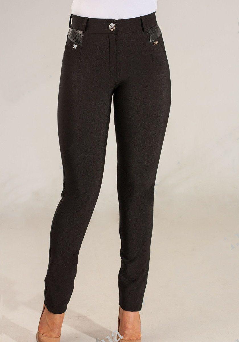Кожа на женские брюки
