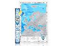 Скретч карта Discovery Map Europe (англ. язык), фото 2