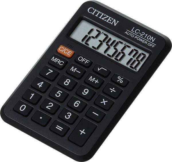Калькулятор Citizen LC-210N карманный 8р.