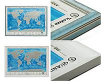 Скретч карта Discovery Map Europe в раме