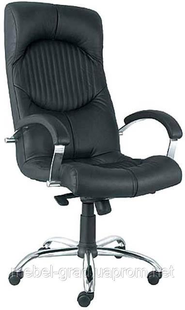Крісло для керівника Germes Steel LB Chrome / Гермес Стіл Хром LB Nowy Styl