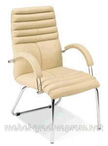 Офісне крісло конференційне Galaxy Steel CF LB Chrome / Галаксі Стіл Хром Nowy Styl
