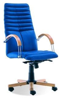 Крісло для керівника Galaxy Wood Chrome / Галаксі Вуд Хром Nowy Styl