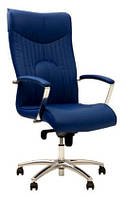 Кресло для руководителя Felicia Steel Chrome / Фелиция Стил Хром Nowy Styl