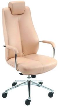 Крісло для керівника Sonata Steel Chrome / Соната Стіл Хром Nowy Styl