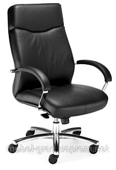 Крісло для керівника Rapsody Steel Chrome / Рапсоди Стіл Хром Nowy Styl