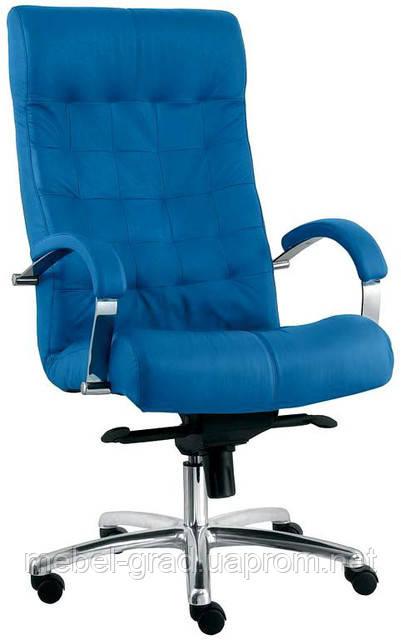 Крісло для керівника Lord Steel Chrome / Лорд Стіл Хром Nowy Styl