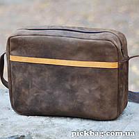 Кожаная сумка - B028