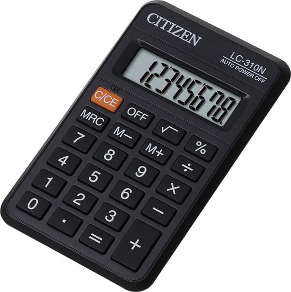 Калькулятор Citizen LC-310N  карманный 8р