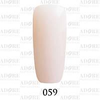 Гель-лак Adore Professional № 059 (пастельный розовый френч) 9мл ADR 059/96