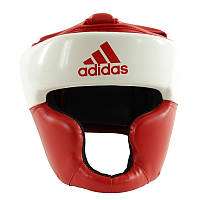 Шлем боксерский Adidas Response White/Red