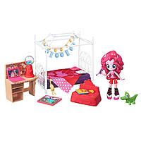 """MLP EG Игровой набор мини-кукол """"Пижамная вечеринка"""", Slumber Party Bedroom Set B8824&B4911"""