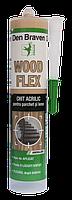 Паркетный герметик для внутренних и наружных работ Den Braven Wood Flex 300 мл