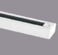 Шинопровод для инсталяции трековых светильников 1м (белый)