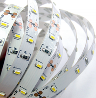 Светодиодная лента LEMANSO IP65 5m 60SMD 3014 12V белый 5W/м  / LM580