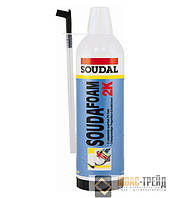 SOUDAL (Соудал ТМ) Soudafoam 2K Монтажная пена быстрой полимеризации, 400мл