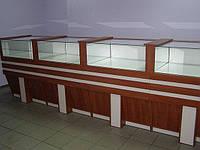Торговые витрины, прилавки  для ювелирных  магазинов
