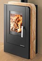 Кафельная печь на дровах, каминофен Haas+Sohn Nordby