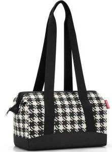 Практичная сумка в дорогу 8 л Reisenthel MR 7028-fifties black