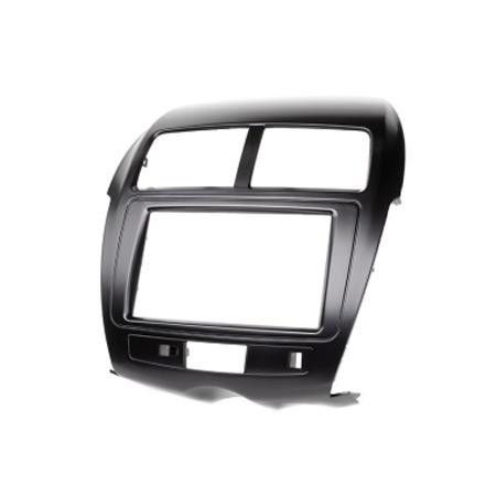 Рамка перехідна 11-103 Mitsubishi ASX, RVR 2010+ / Peugeot 4008 2012+ / Citroen C4 Aircross 2012+ (Carav) 2 DIN