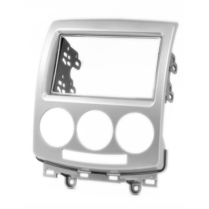 Рамка переходная 11-084 (carav) MAZDA 5 (Premacy) 2005-> (silver) 2-DIN