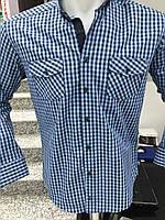 Рубашка  Турция Клетка+ Латки
