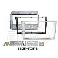 Рамка переходная 381230-24-5 Opel Astra H/Corsa D/Zafira B (satin-stone) kit