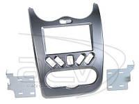 Рамка переходная 381250-02-2 Dacia Duster (SD) 04.2010-> серая