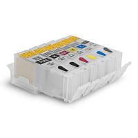 ПЗК - Перезаправляемые Картриджи SuperPrint  REFILL6-450CN с АО чипами