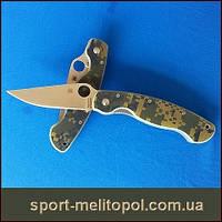 Нож Spyderco  Spyderco Military G-10 Камуфляж