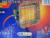 Керамическая горелка с автоматикой безопасности и креплением на баллон (4,6 кВт)