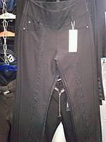 Нарядные женские брюки большого размера.