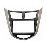 Рамка переходная 11-105 Hyundai i25, Accent, Solais, Verna 10+ (Carav) 2 DIN