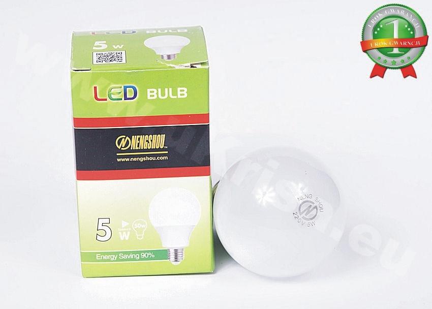 Світлодіодна Лампочка 5 ват 220 вольт е27 для будинку